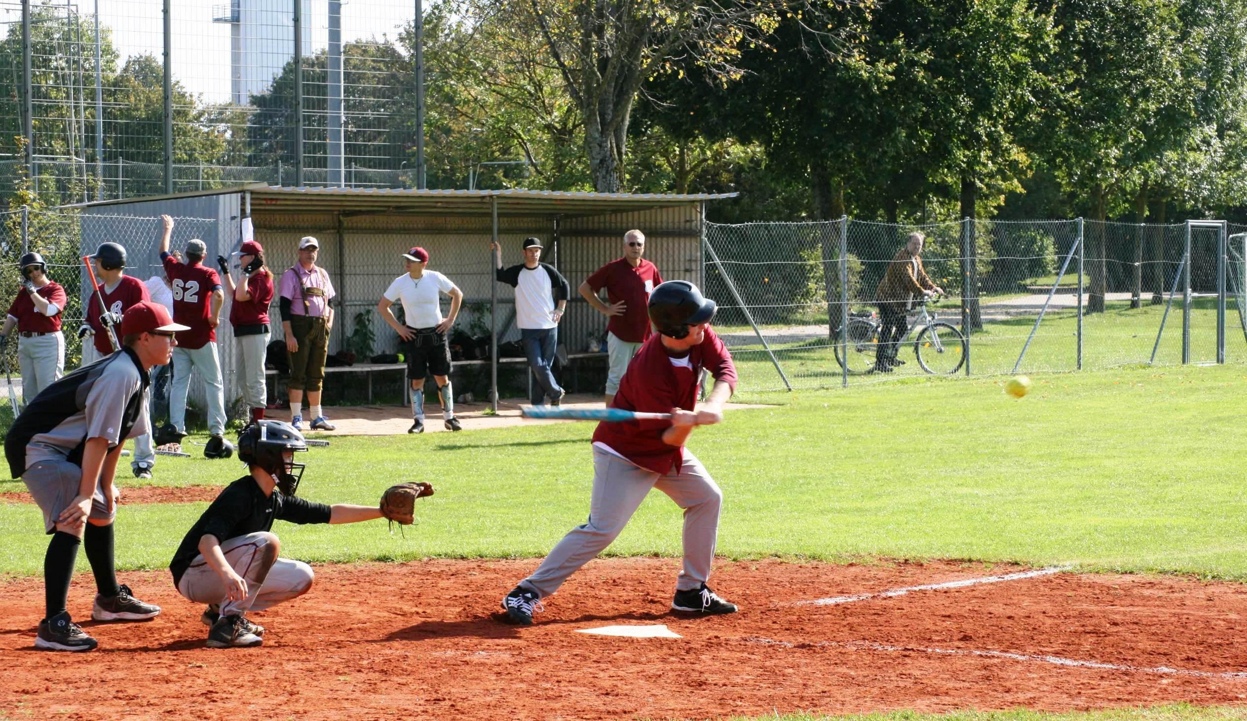 Abschied vom alten Baseballfeld