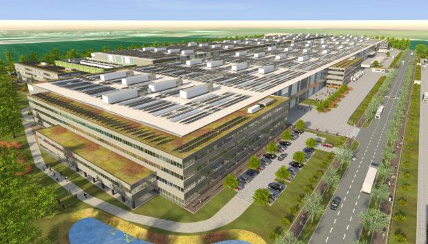 Parsdorf neuer VGP Gewerbepark, BMW, KraussMaffei