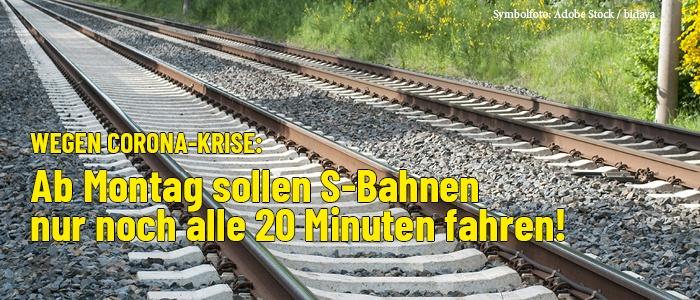 Corona, S-Bahn Takt
