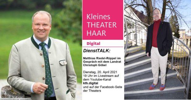 """Kleines Theater Haar: """"DienstTALK"""""""